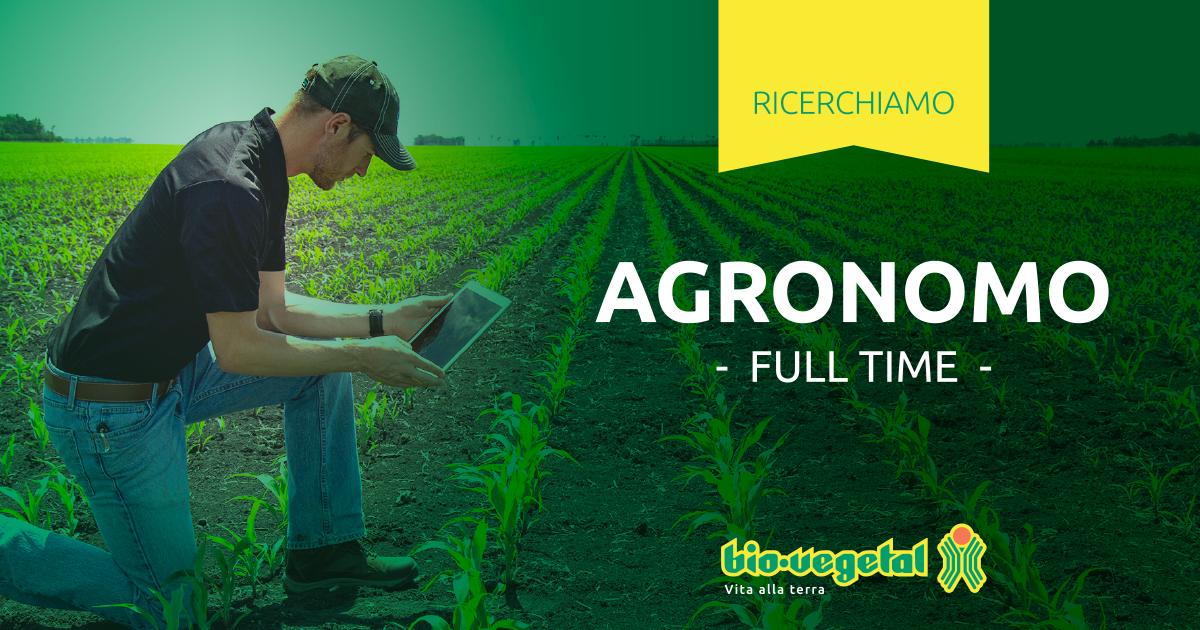 Biovegetal: ricerchiamo un agronomo